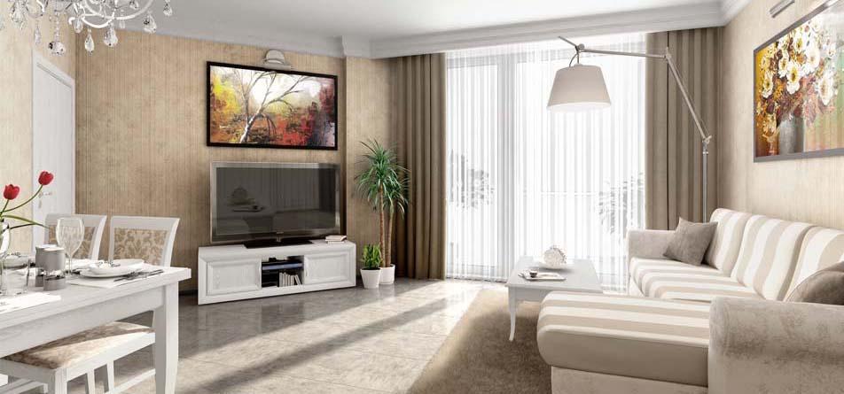 Интерьеры квартир и апартаментов Вилла Флоренция