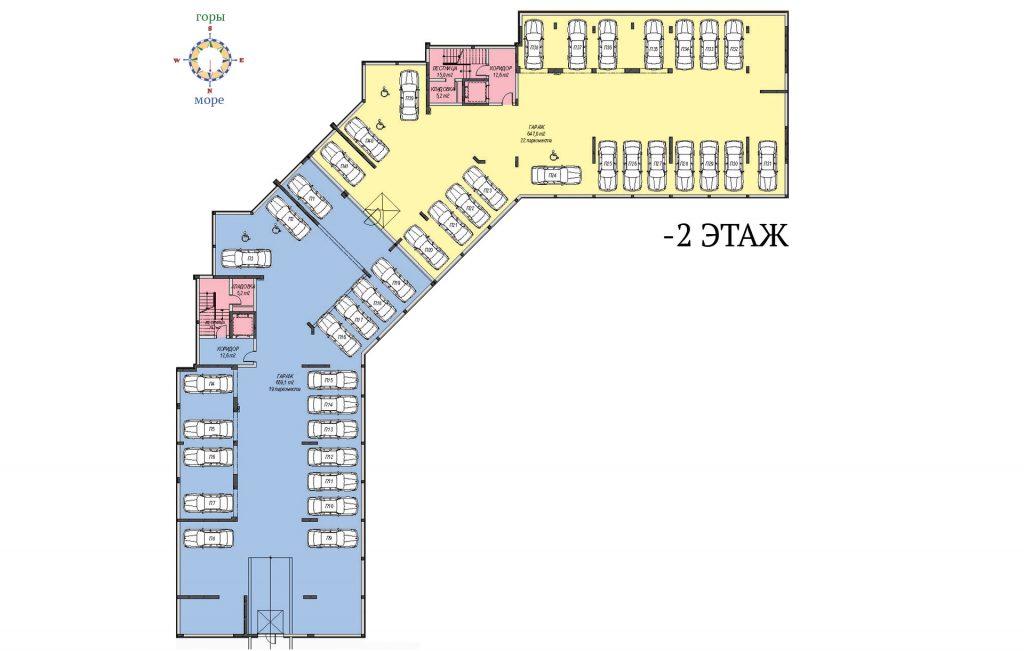 Вила Флоренс, Свети Влас, етаж -2