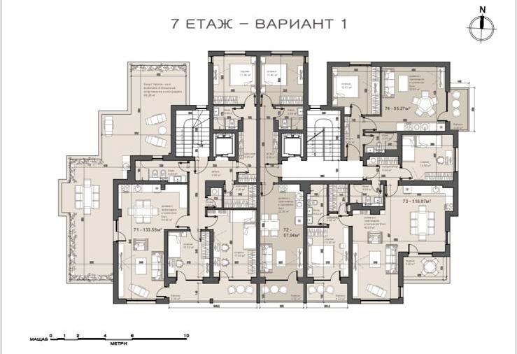 жк Люлин 7, гр. София (етаж-7)