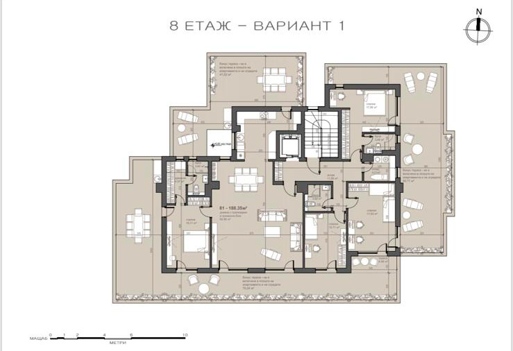 жк Люлин 7, гр. София (етаж-8)