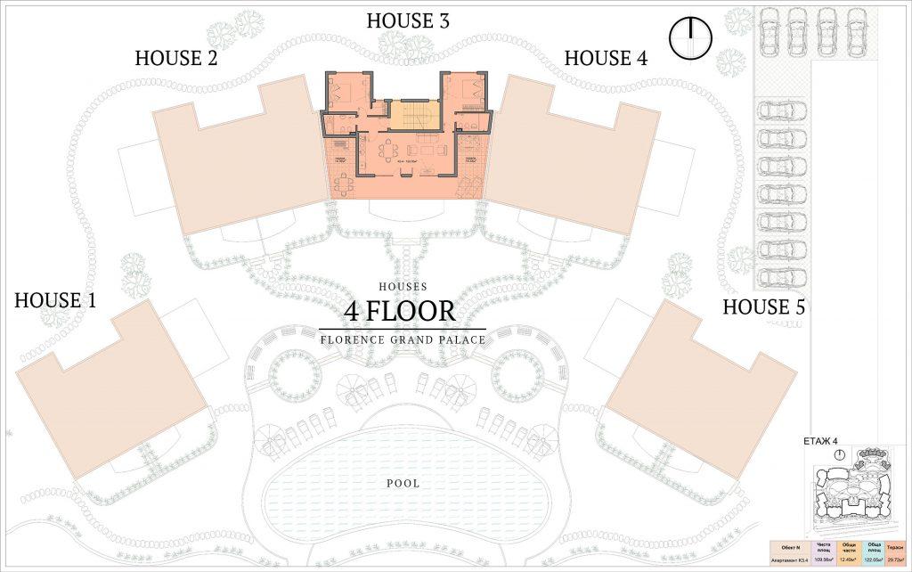 къщи в ж.к. Флоренс Гранд Палас - Свети Влас (4)
